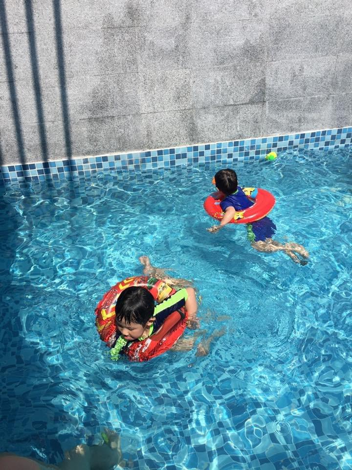 private pool for each villa at lexis hibiscus lexishibiscus #portdickson #beachholiday #beachgetaway #familytravel #travelwithkids #malaysia