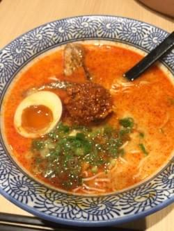 spicy tonkotsu ramen at so ramen