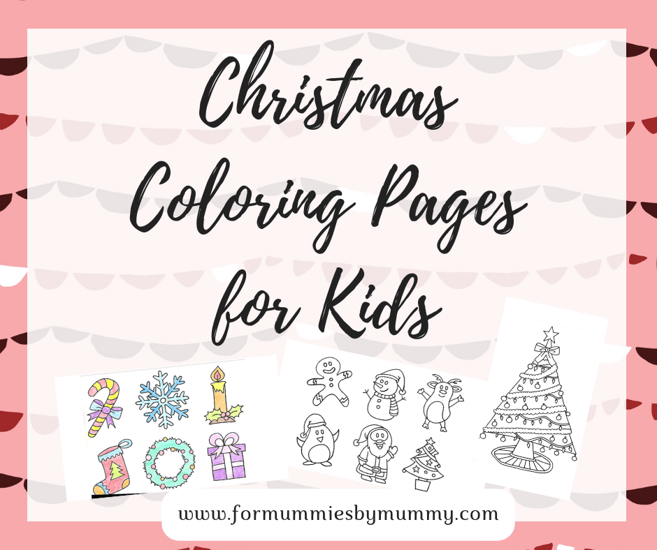 Free Christmas coloring pages for kids. Free printables. Christmas crafts. Christmas kids activities