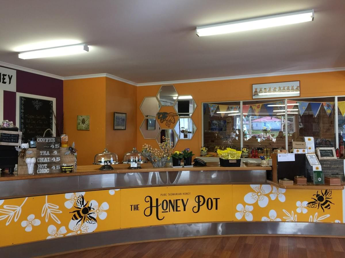The Honey Pot in Hobart, Tasmania