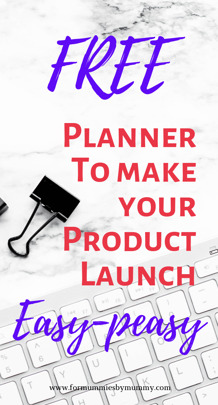 Free planner for mom bloggers to organize your product launch and increase product sales! #mombloggers #solopreneurs #marketingtips #saletips #productivity