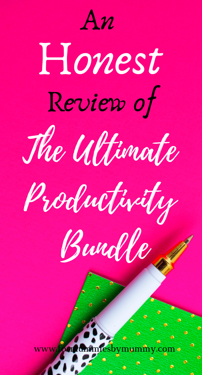 Why the Ultimate Productivity Bundle is such an awesome deal you cannot miss! #ultimatebundles #productivity #busymoms #planners #mombloggers
