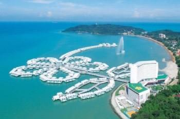 bird's eye view of lexis hibiscus port dickson