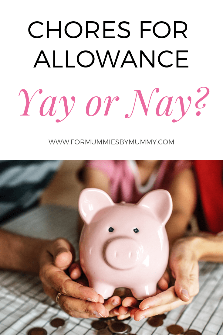 why parents shouldn't give their children allowance for doing chores. #parenting #family #momlife #kidsallowance