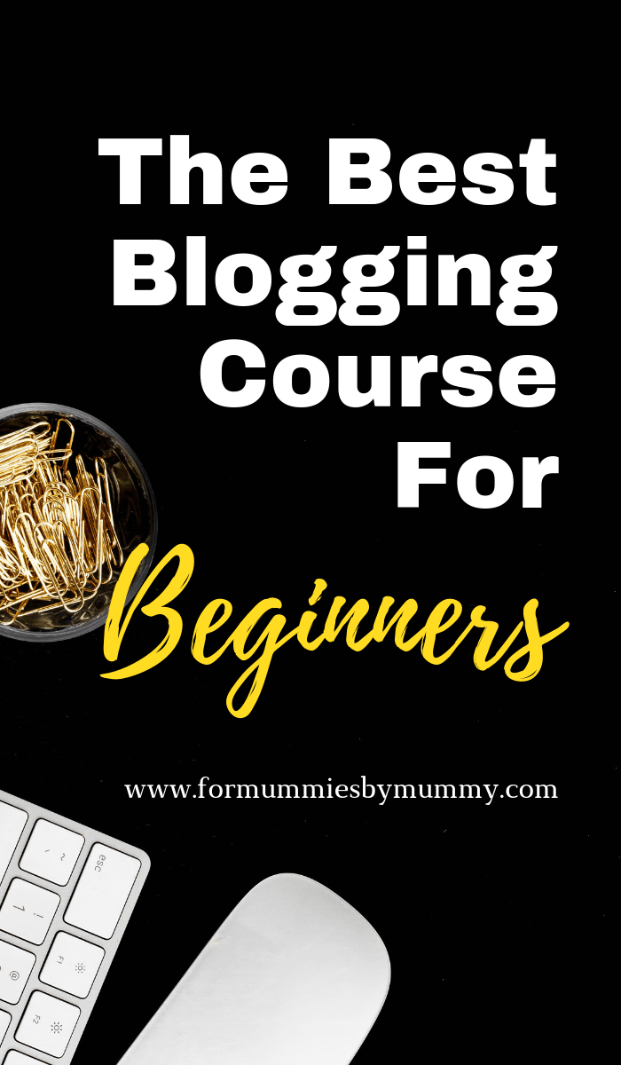 the best blogging course for beginners. Learn how to build a successful blog. #blogging #momblogger #solopreneur #wfhm #newblogger #seo