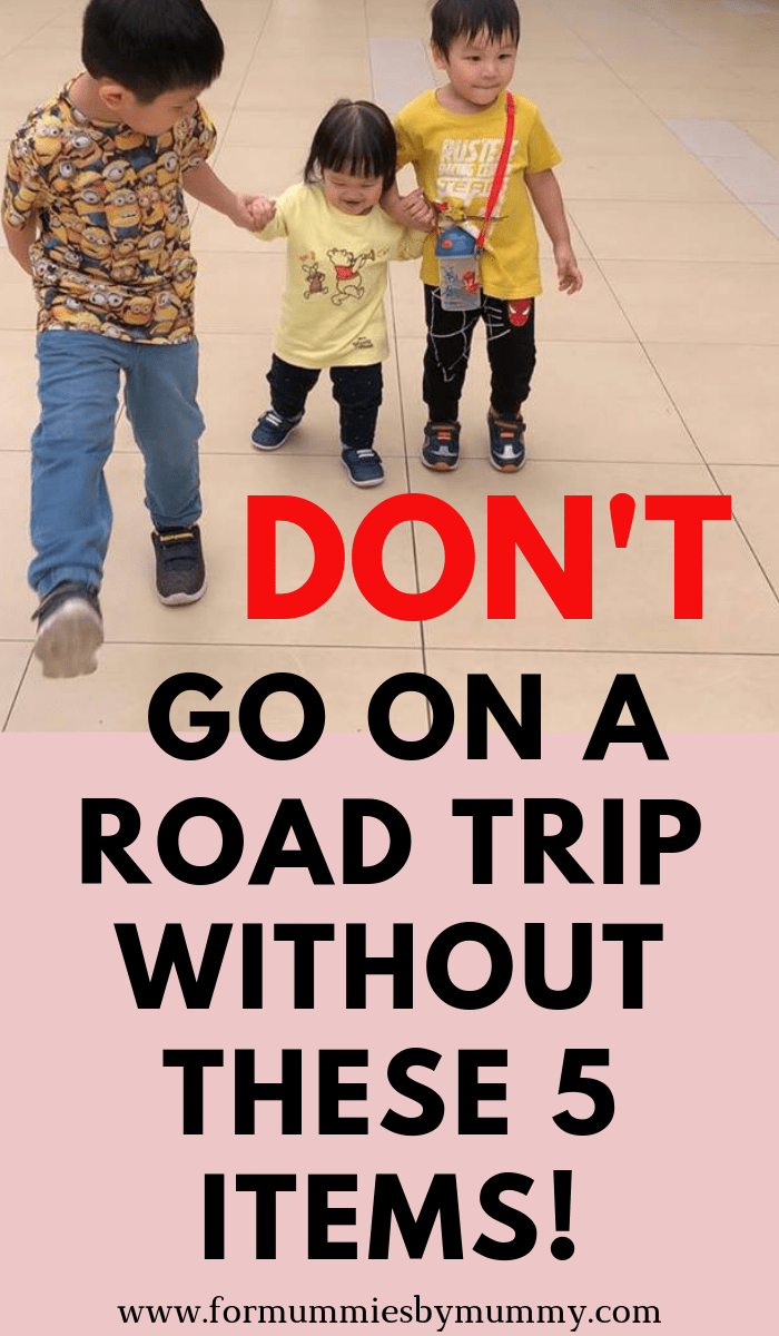things to bring on a road trip with kids. What to pack for a family road trip. #packinglist #familyvacay #roadtrip #familytravel #travelwithkids