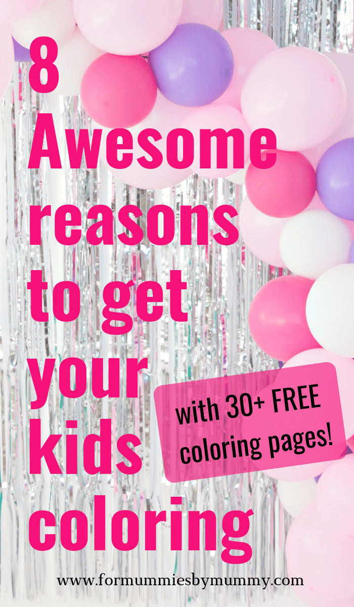 why coloring activities are good for kids. Free cartoon coloring pages for kids. #coloring #freeprintables #kidsactivities #toddlers #preschool #printablesforkids
