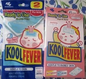 fever patches for children