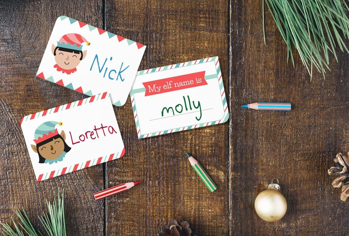 Christmas elf name generator. Christmas party ideas for kids. Christmas activities for kids.