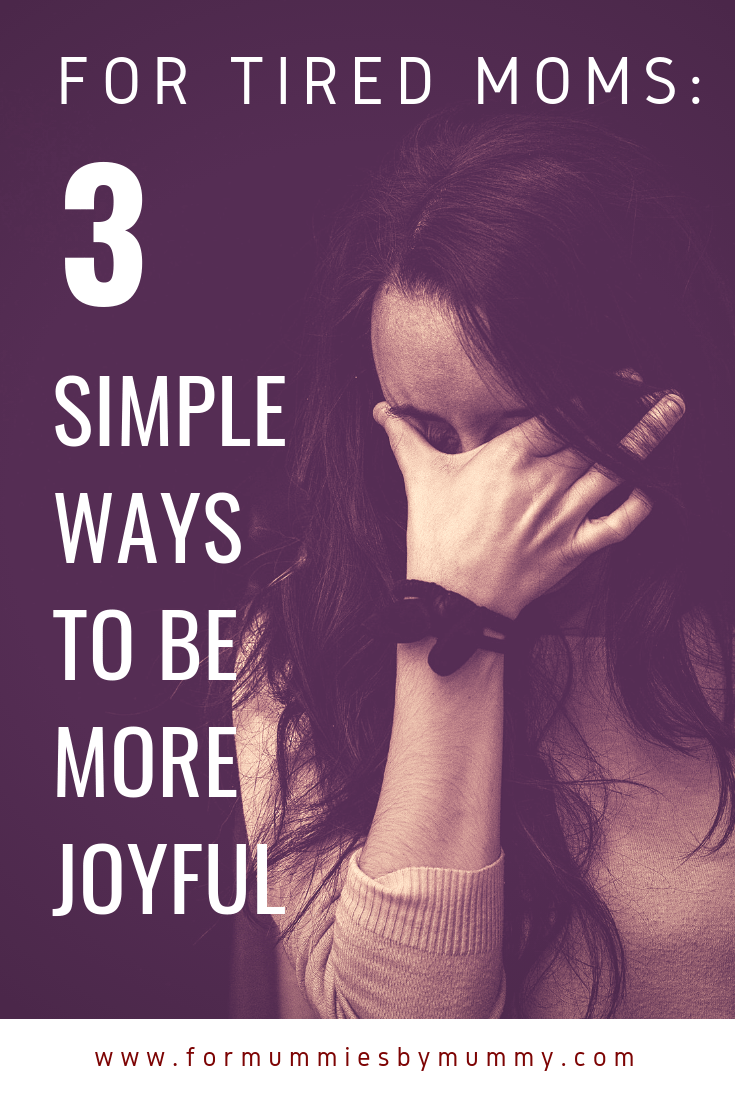 Important tips for busy moms to find more joy. #christianmom #momlife #motherhood #prayer
