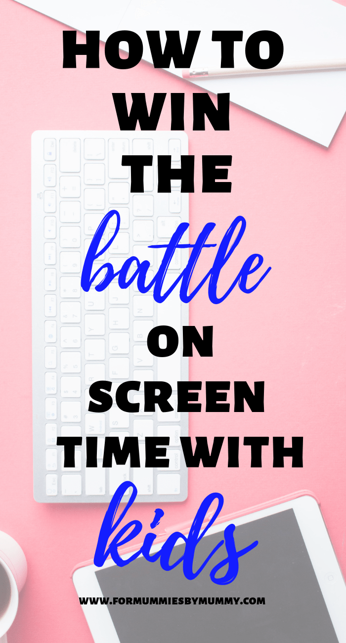 how to overcome the battle of screen time with your kids #screentime #kidsactivities #momlife #parenting