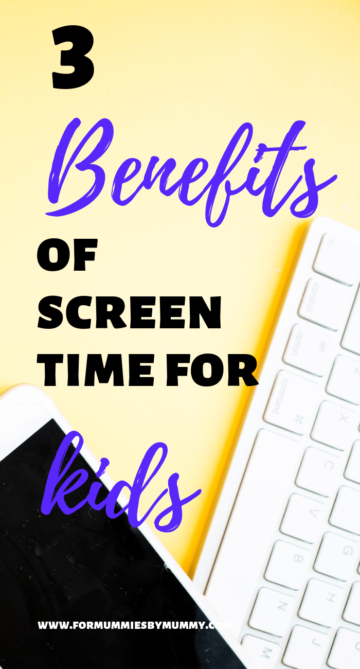 3 benefits of screen time for kids #kidsactivities #momlife #parentingtips #toddlers