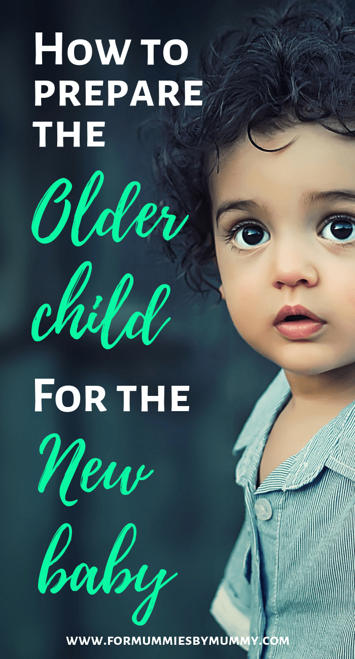 Ways to prepare the older child for a new baby #newbaby #momlife #parentingtips #siblings