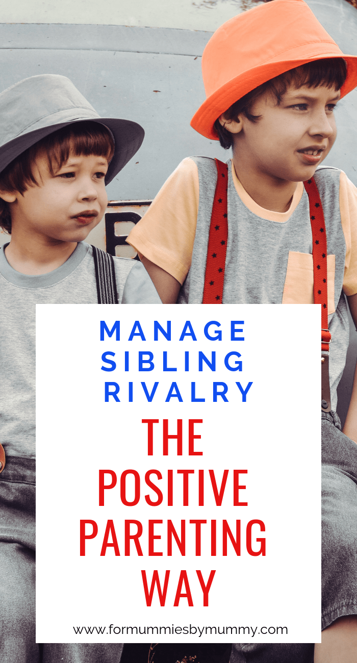 how to overcome sibling rivalry the positive parenting way #parentingtips #momlife #siblings #respectfulparenting