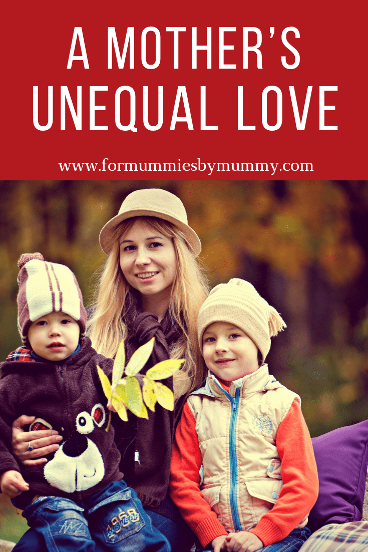 Why this mom love her kids unequally. Managing multiple children. Loving our kids. #parenting #parentingadvice #parentingtips #unconditionallove