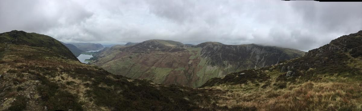 View from Fleetwith Pike
