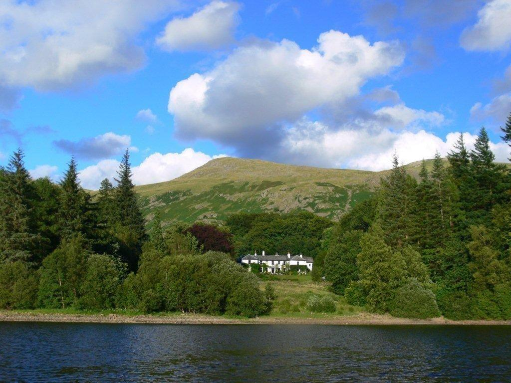 Thirlmere and hotel in Keswick
