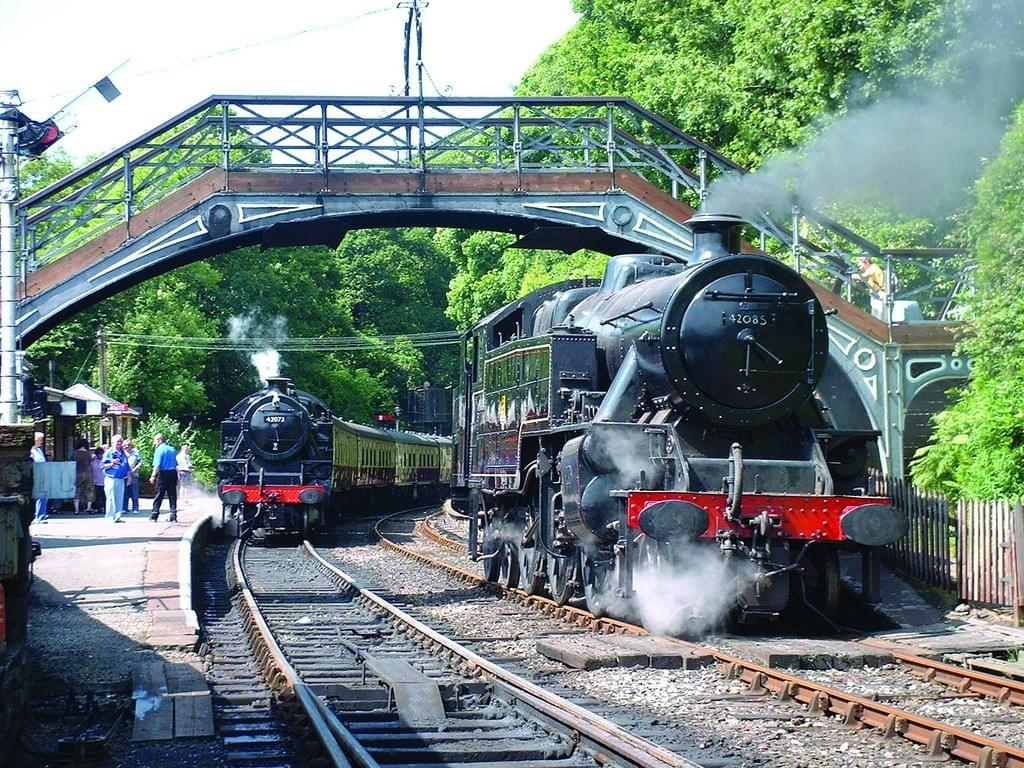 Lakeside and Haverthwaite Railway train