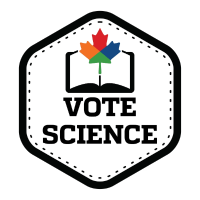 Vote Science Logo