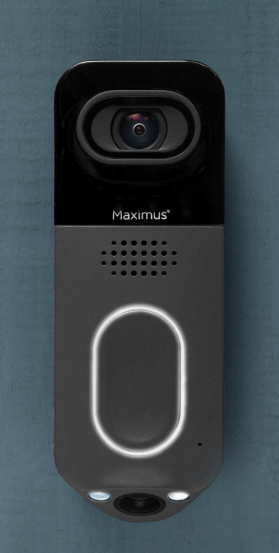 Maximus Lighting Video Camera Doorbell - Door Bell Ninja - Orlando Smart Homes
