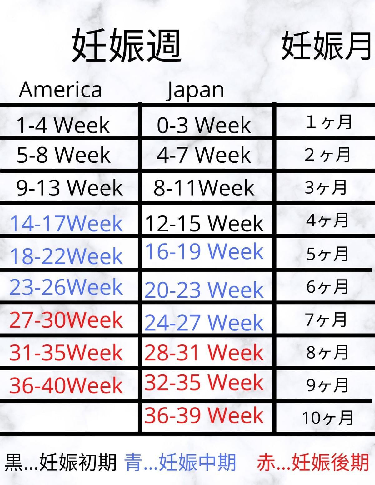 計算 妊娠 週 数