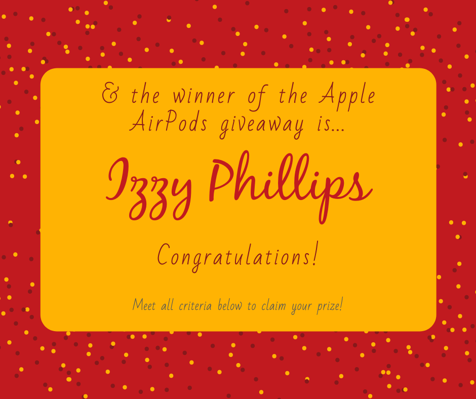 Win a free pair of Apple AirPods!