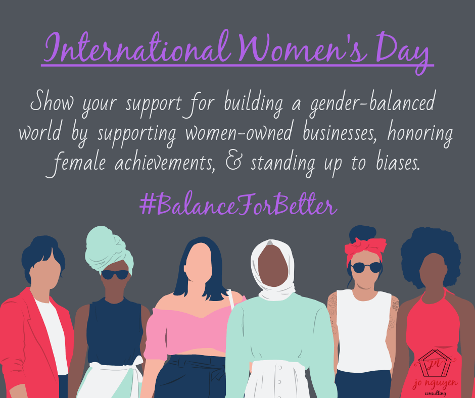 International Women's Day #BalanceForBetter 2019