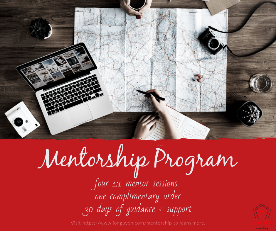 Mentorship Program by Jo Nguyen Consulting