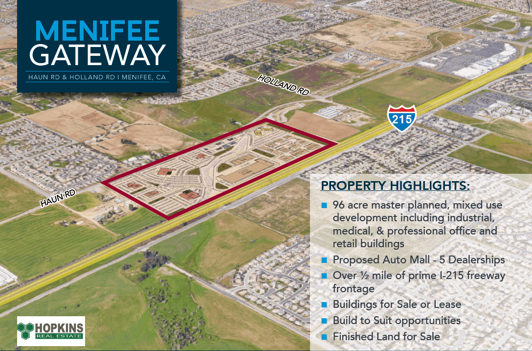 Menifee Gateway Property Highlights