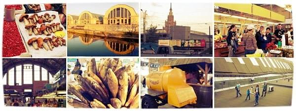 Riga Central market tour by tour guide Zane Supulniece
