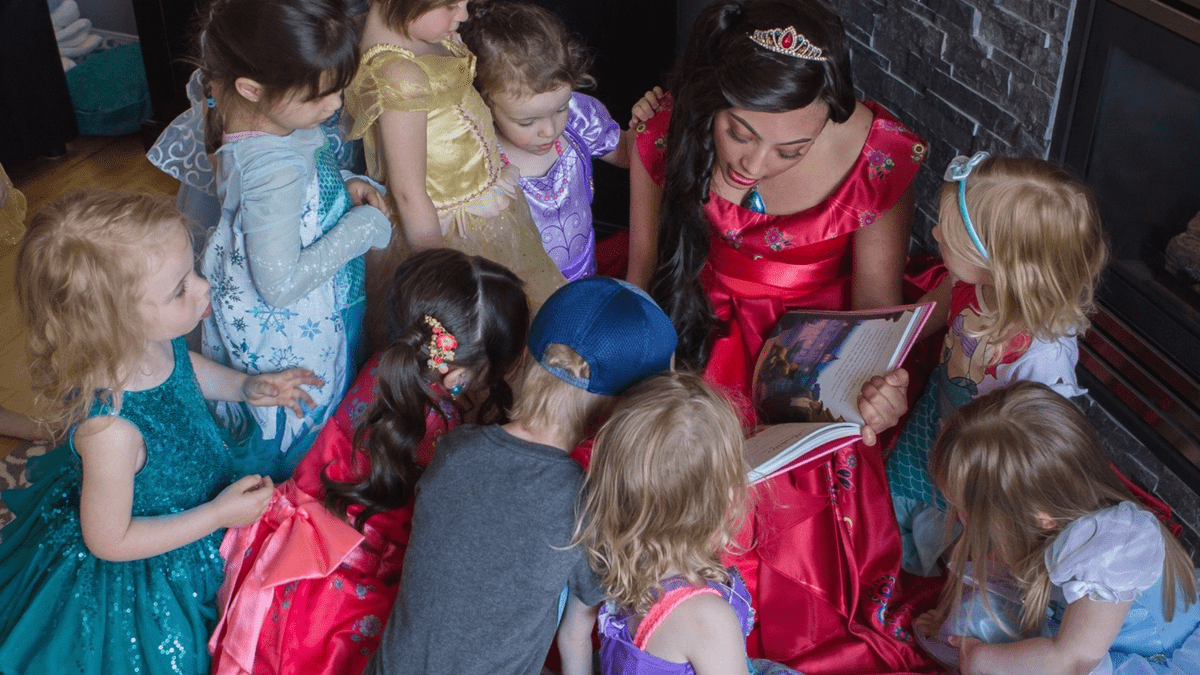 Princess Party Edmonton Birthday Party Kids Character Entertainment