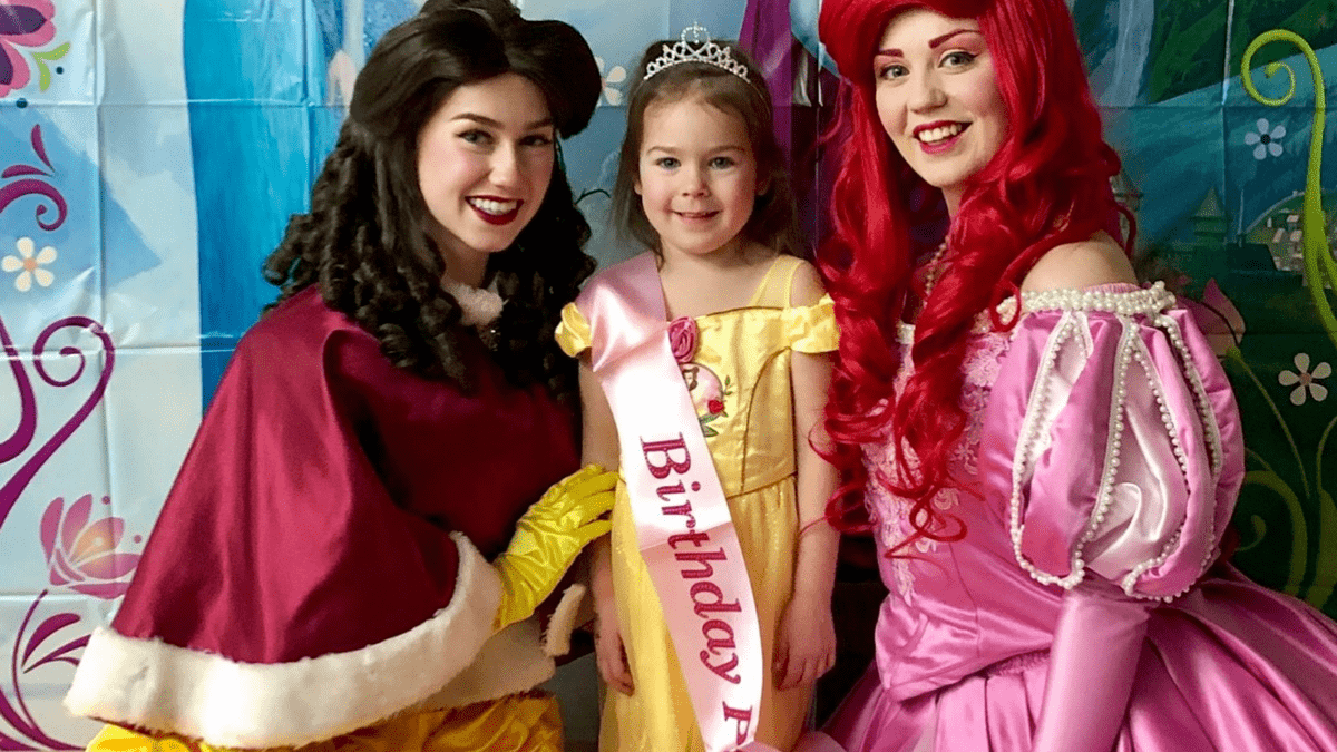 Princess Party Edmonton Birthday Party Kids Character Entertainment Coronation