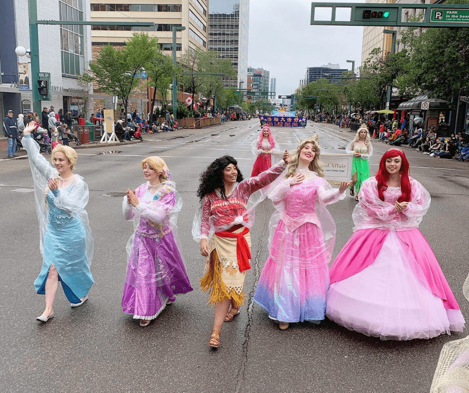 Princess, Superhero Character Entertainment Edmonton Special Event Performers for parties, festivals, corporate events