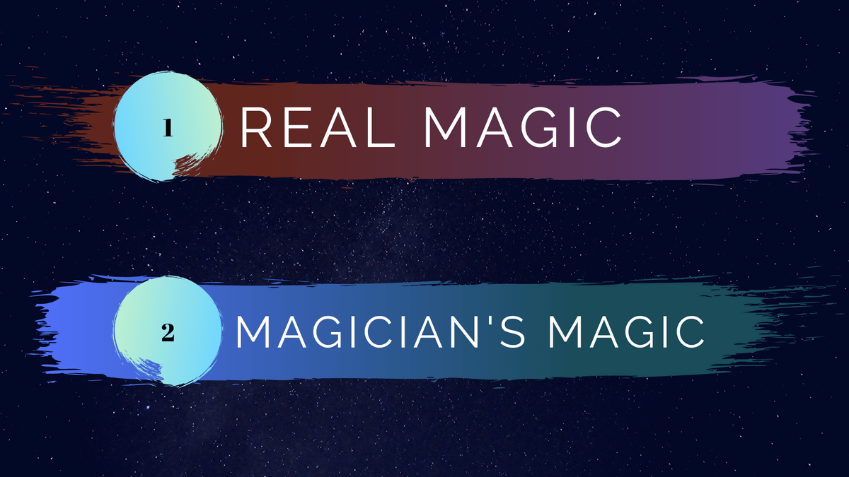 magic, magician