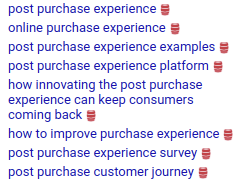 purchase experience platform