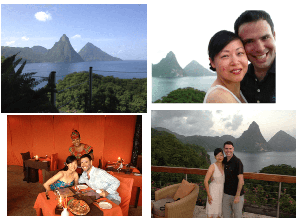 Honeymoon in St. Lucia 2012