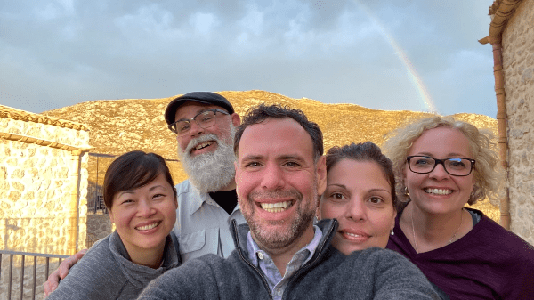 Rainbows and Smiles at Masseria Agnello in Agrigento.
