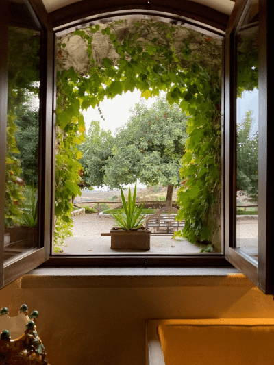 Picture Window at Masseria Agnello in Sicily