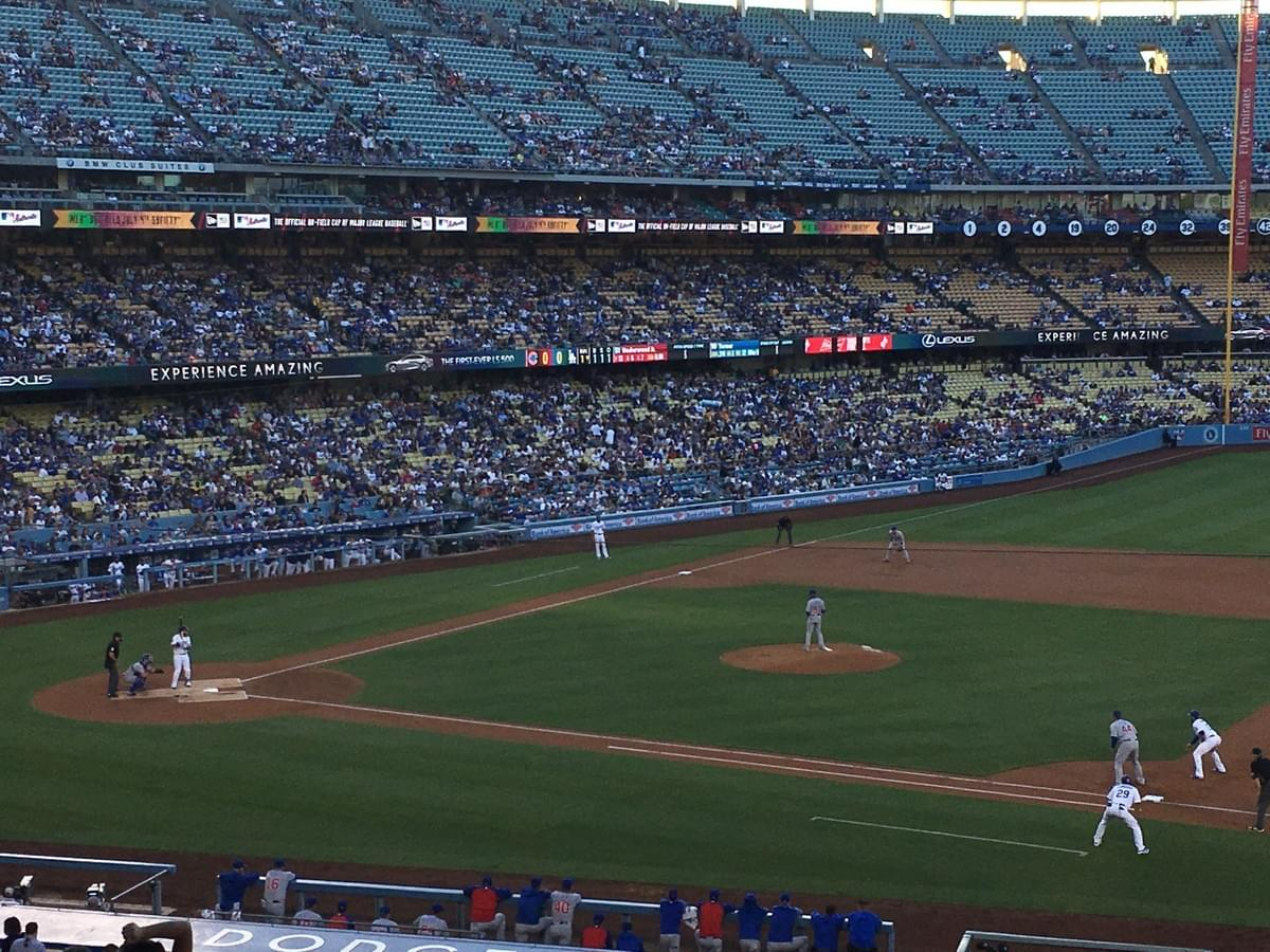 Dodgers v Cubs #baseball #summer #mlb 2018