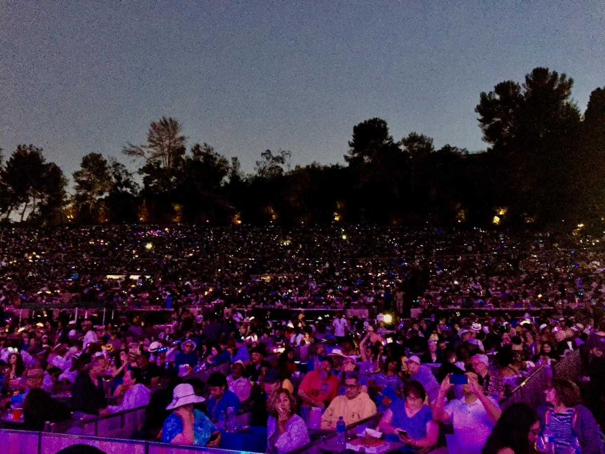 Love and humanity at a jazz concert at the Hollywood Bowl