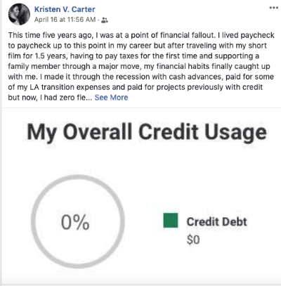 Paying off $45,000 in credit card debt in 1 year!