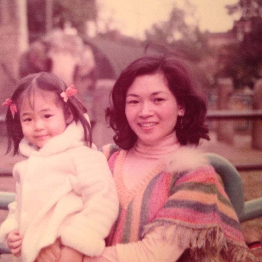 My favorite photo of my mom and me in Taiwan.