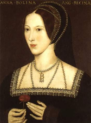 Anne Boleyn might have laughed at the idea of a man on the moon,
