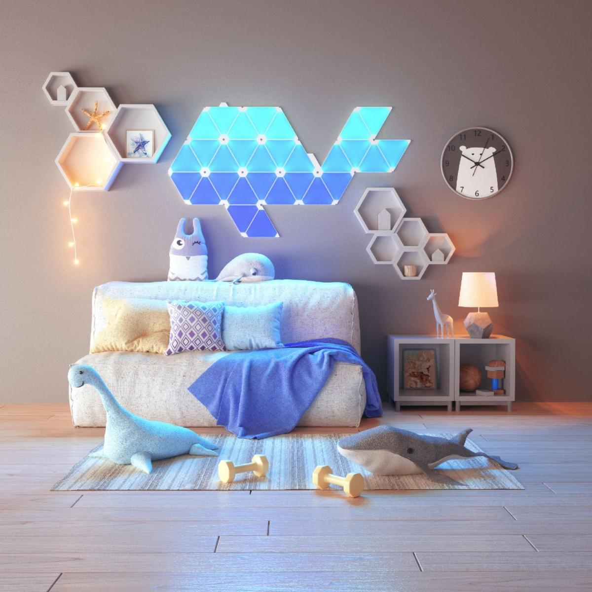 Baby room with Nanoleaf