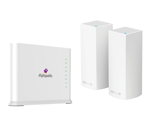 Sign up for myRepublic to get a $120 off our smart home solution package.