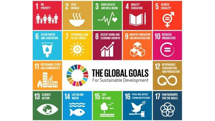 Image showing the UN's 17 Sustainable Development Global Goals