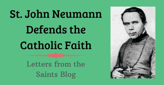 Saint John Neumann as Bishop of Philadelphia