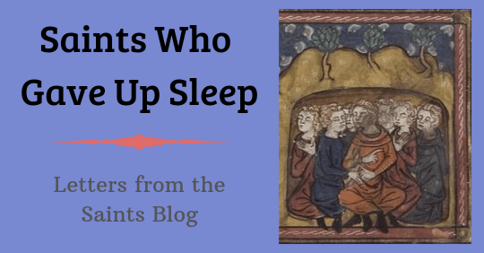 Seven Sleepers from a Manuscript