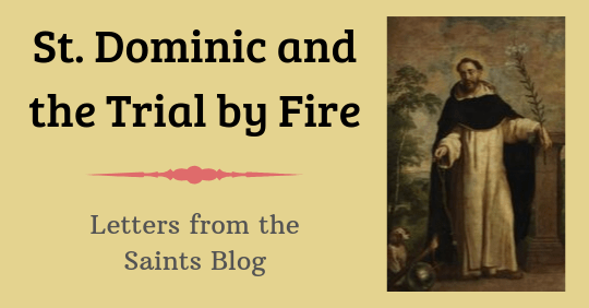 Saint Dominic and the Trial by Fire