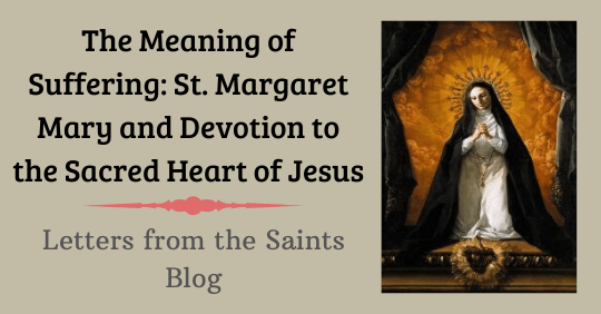 Saint Margaret Mary Alacoque who spread devotion to the Sacred Heart of Jesus